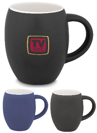 45133 Matte Barrel Ceramic Mug 16 Oz