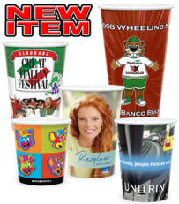 printed cups, cup printing, custom printed cups, printed stadium cups, printed beer cups, printed coffee cups, full color printing
