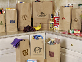 Brown Paper Bags And Grocery Bags