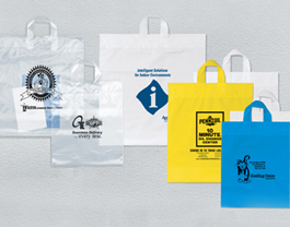 Loop Handle Plastic Bags