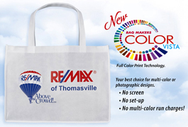 Tote Bags With 4 Color Process Imprint