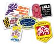 Stickers, decals, roll labels, bumper stickers, static cling stickers, custom printed stickers... Click here for more info.