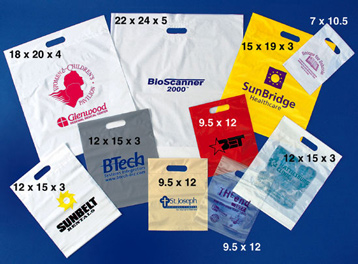 tradeshow giveaway bags custom printed trade show bags and convention bags - Custom Plastic Bags